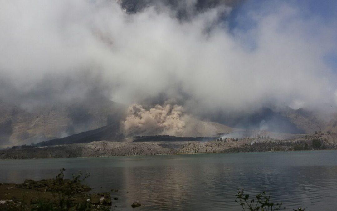 New Volcano Erupted 2016